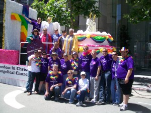 LGBT Christian friends from Freedom in Christ Evangelical Church, SF