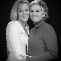 Becky & Kori, married. Love is love.