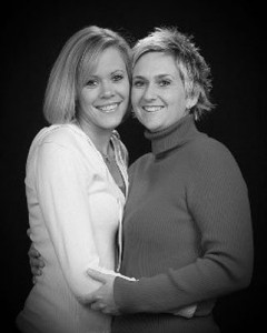 Becky & Kori, married. Love is love.