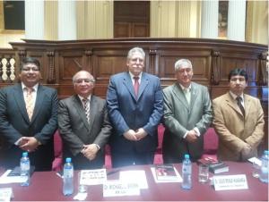 Michael Brown in Parliament of Peru