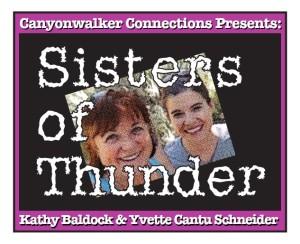 Yvette Cantu Schneider and Kathy Baldock