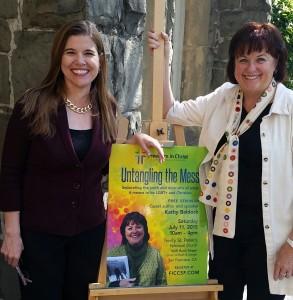 Yvette Schneider & Kathy Baldock