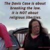 Kim Davis in Contempt of Court
