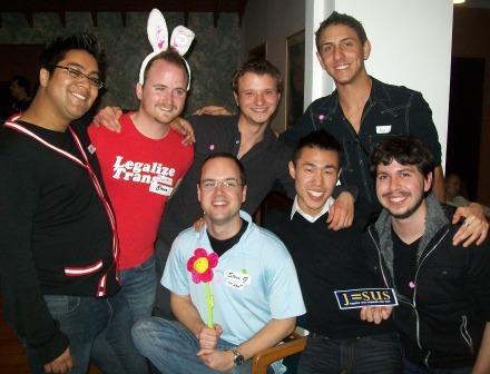 Juan, Stuart, Josh, Wesley, John, Paul & Travis